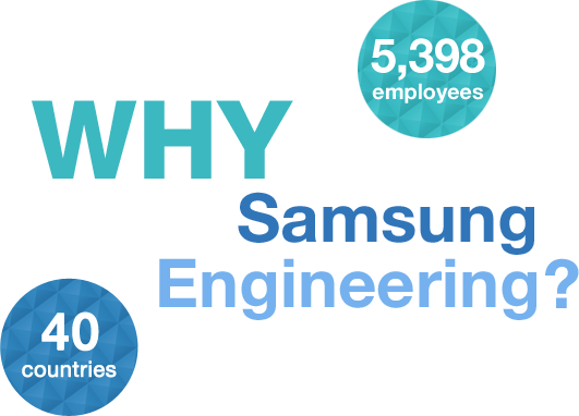 Why Samsung Engineering 9000 employees 40 countries